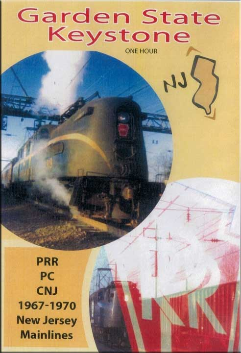 Garden State Keystone NJ PRR PC CNJ DVD Train Video Revelation Video RVQ-GSKEY