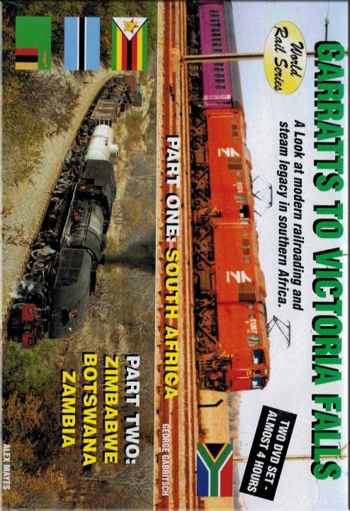 Garratts to Victoria Falls DVD 2 Disc Set Train Video Revelation Video RVQ-GTVF