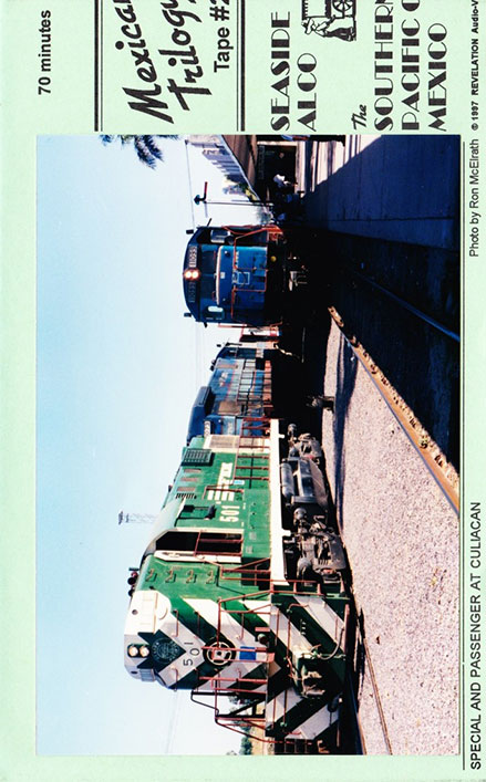 Mexican Trilogy - Seaside Alco The Southern Pacific of Mexico DVD Train Video Revelation Video RVQ-MEX2