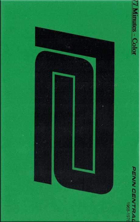 Penn Central 1968-1976 DVD Train Video Revelation Video RVQ-PENC