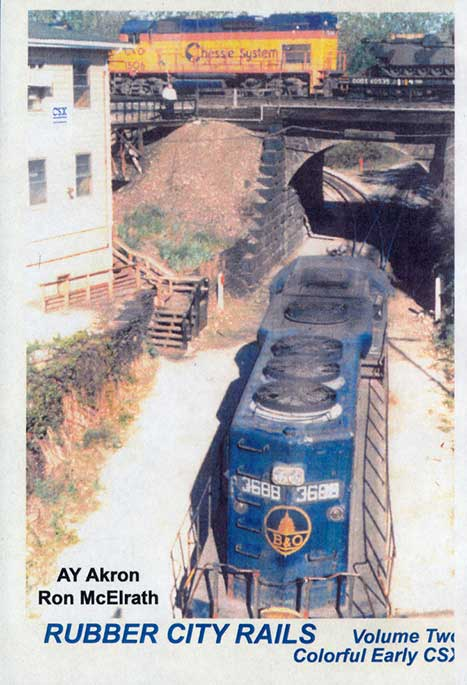 Rubber City Rails Volume 2 Colorful Early CSX DVD Revelation Video RVQ-RCR2