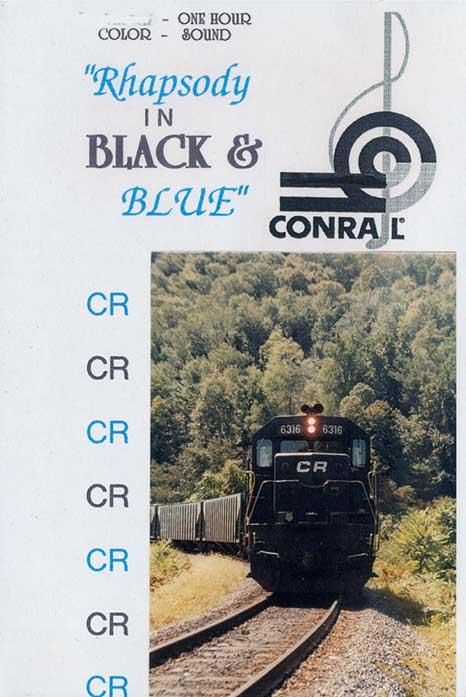 Rhapsody in Black & Blue - Conrail DVD Revelation Video RVQ-RIBB