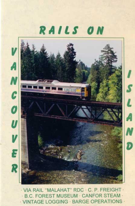 Rails on Vancouver Island DVD Train Video Revelation Video RVQ-ROVI