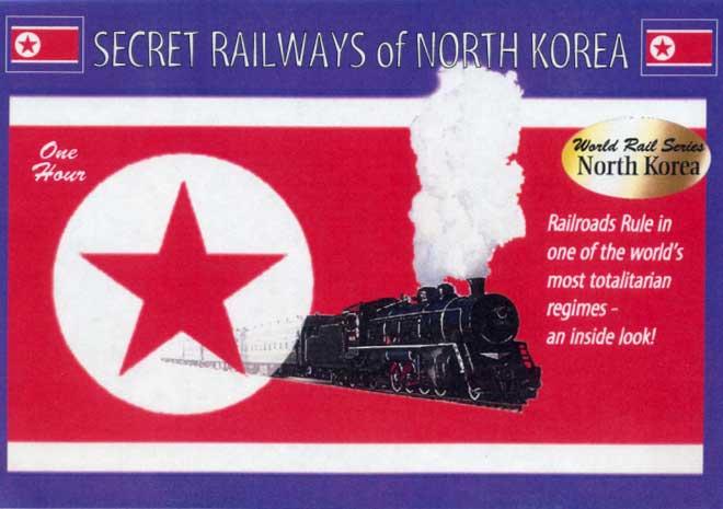 Secret Railways of North Korea DVD Train Video Revelation Video RVQ-SRNK