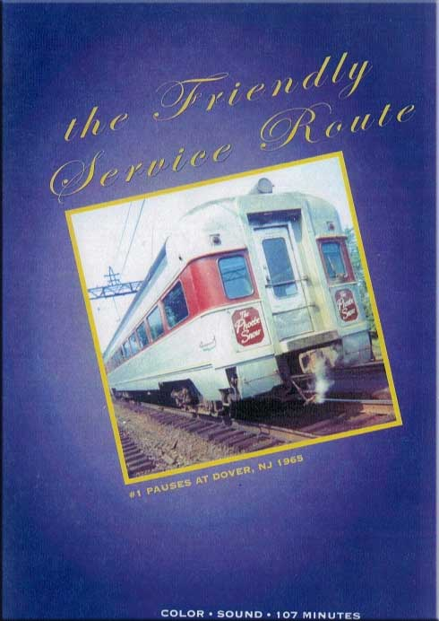 Erie Lackawanna - The Friendly Service Route DVD Train Video Revelation Video RVQ-TFSR