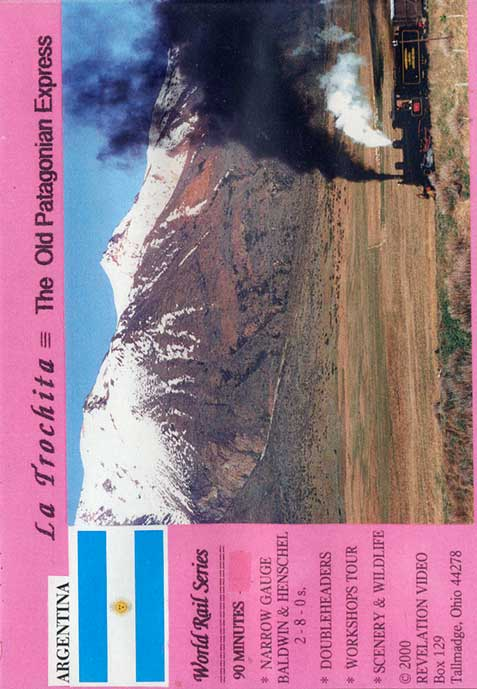 La Trochita - The Old Patagonian Express DVD Train Video Revelation Video RVQ-TOPE