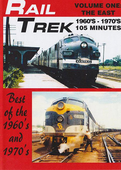 Rail Trek - The East 1960s-1970s Volume 1 DVD Train Video Revelation Video RVQ-RT1