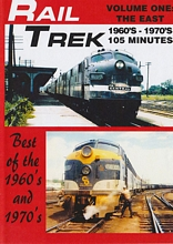 Rail Trek - The East 1960s-1970s Volume 1 DVD