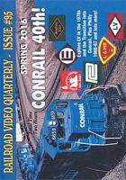 Railroad Video Quarterly Issue 95 Spring 2016 Train Video