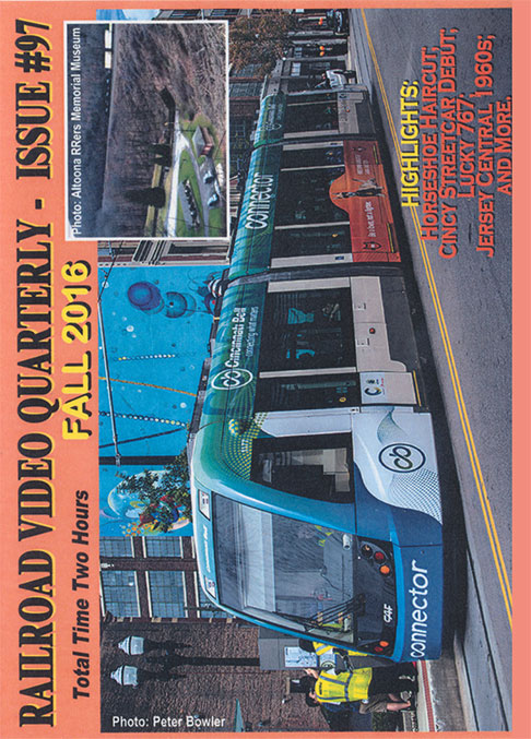 Railroad Video Quarterly Issue 97 Fall 2016 DVD Revelation Video RVQ-Q97