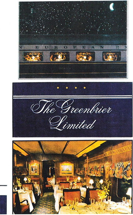 The Greenbrier Limited DVD Revelation Video RVQ-TGBL