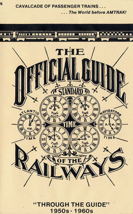 Through the Guide - Passenger Runs Before Amtrak 1950s-1960s DVD Train Video Revelation Video RVQ-TTG