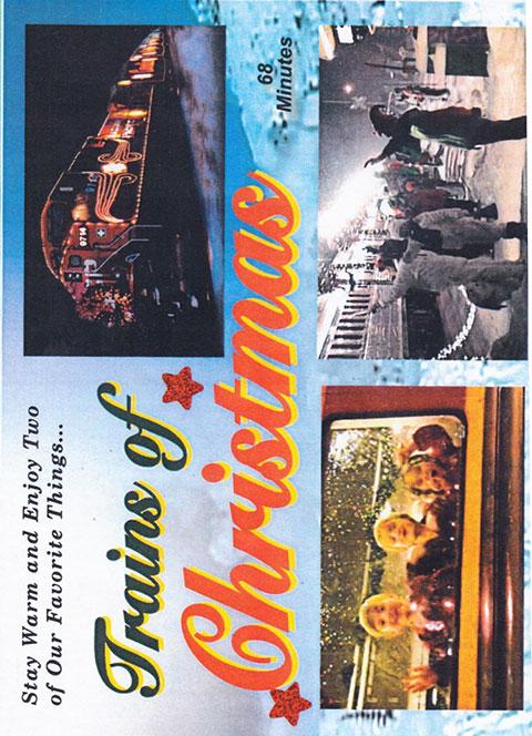 Trains of Christmas DVD Train Video Revelation Video RV-TOC