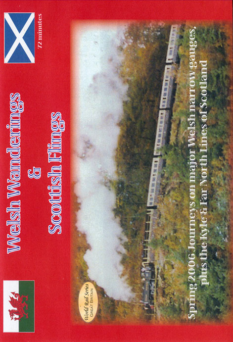 Welsh Wanderings & Scottish Flings DVD Train Video Revelation Video RVQ-WWSF