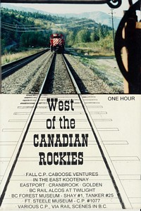 West of the Canadian Rockies DVD