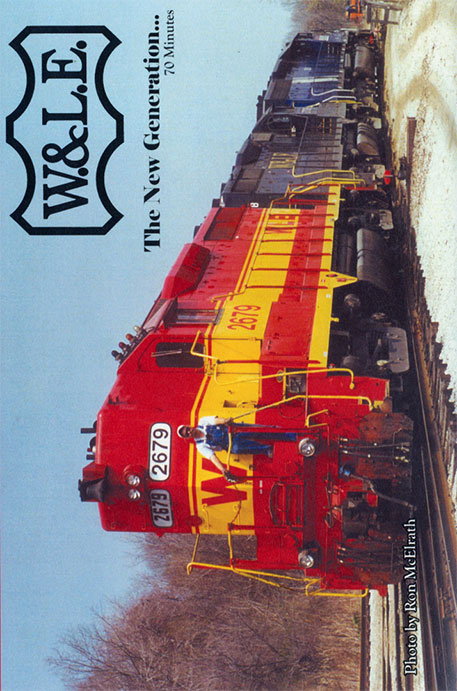 Wheeling & Lake Erie The New Generation DVD Train Video Revelation Video RVQ-WLE