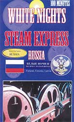 White Nights Steam Express Russia DVD