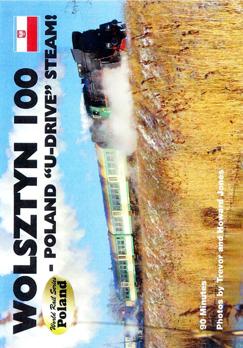 Wolsztyn 100 Poland U-Drive Steam DVD Revelation Video RVQ-W100