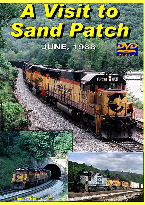 A Visit to Sand Patch June 1988 DVD Broken Knuckle Video Productions SANDPATCH
