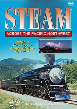 Steam Across the Pacific Northwest DVD Train Video Pentrex SAPN-DVD 748268003646