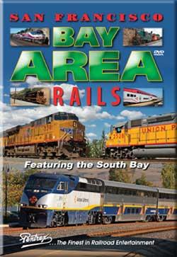 San Francisco Bay Area Rails South Bay DVD Train Video Pentrex SBAR-DVD 748268005275