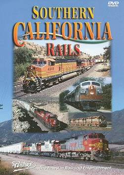 Southern California Rails DVD Train Video Pentrex SCR-DVD 748268004209