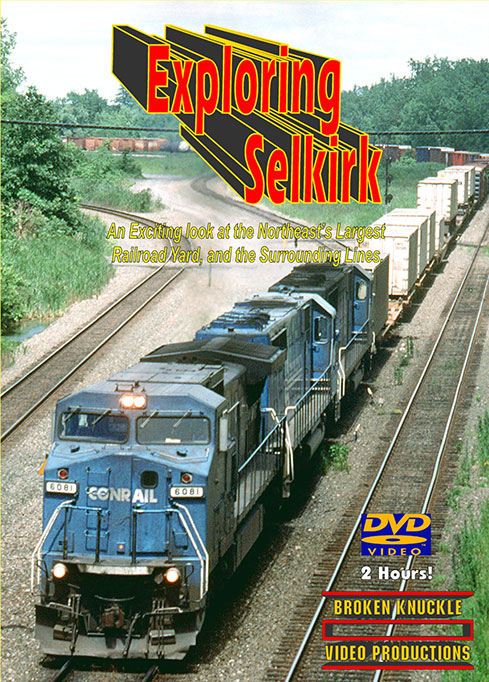 Exploring Selkirk DVD Train Video Broken Knuckle Video Productions SEL-1
