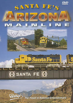 Santa Fes Arizona Mainline DVD Train Video Pentrex SFAZ-DVD 748268004728