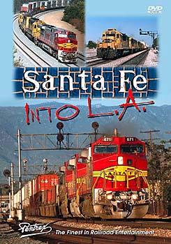 Santa Fe Into L.A. DVD Train Video Pentrex SFLA-DVD 748268004384