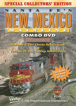 Santa Fes New Mexico Mainline Combo DVD Train Video Pentrex SFNM-DVD 748268004582