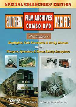 Southern Pacific Film Archives Combo DVD Train Video Pentrex SPFA12-DVD 748268004049