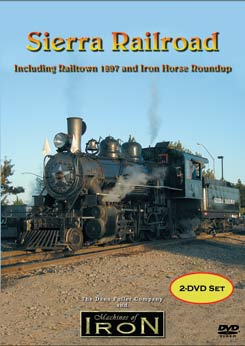 The Sierra Railroad and Iron Horse Roundup (2 DVD) on DVD by Machines of Iron Train Video Machines of Iron SRRSIHDR