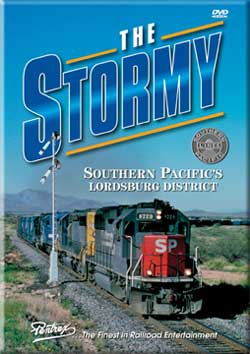 Stormy, The - Southern Pacifics Lordsburg District DVD Train Video Pentrex STORMY-DVD 748268005213