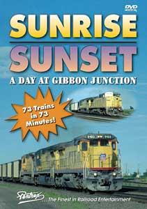 Sunrise Sunset - A Day at Gibbon Junction DVD Train Video Pentrex SUN1-DVD 748268004896
