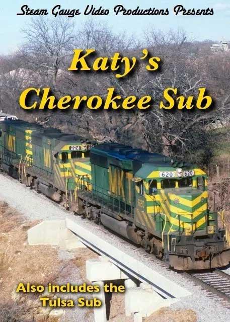 Katys Cherokee Sub plus Tulsa Sub DVD Steam Gauge Video Productions SG-033