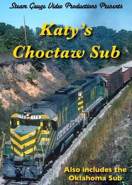 Katys Choctaw Sub Also Includes Oklahoma Sub DVD Steam Gauge Video Productions SG-032