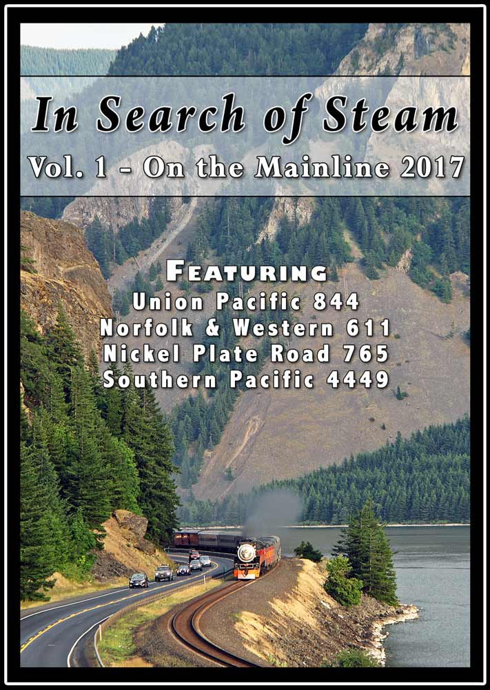 In Search of Steam Vol 1 On the Mainline 2017 DVD Steam Video Productions SVPISS1DVD