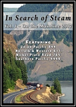 In Search of Steam Vol 1 On the Mainline 2017 DVD