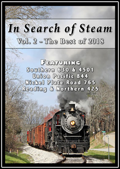 In Search of Steam Volume 2 Best of 2018 DVD Steam Video Productions SVPISS2DVD