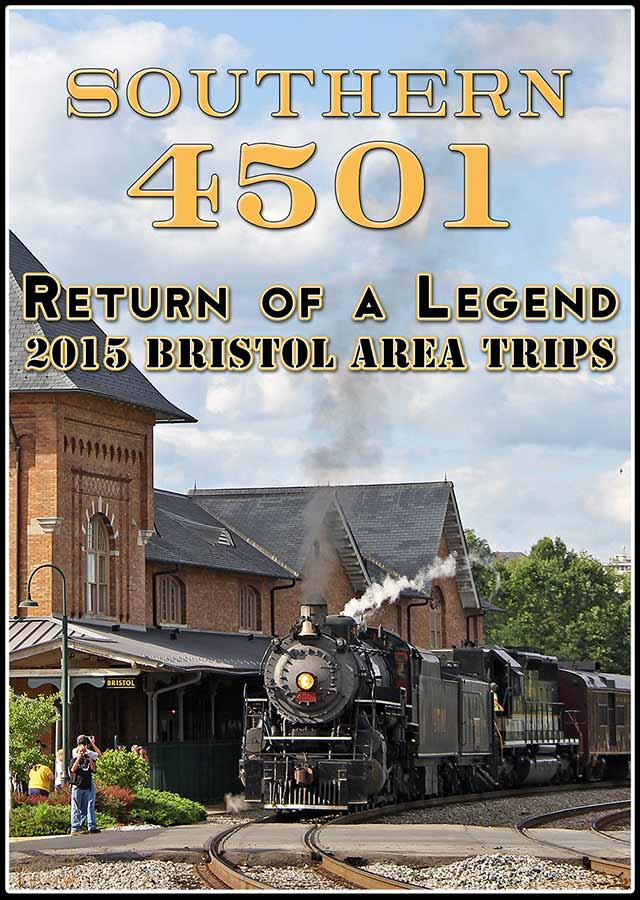 Southern 4501 - 2015 Bristol Area Trips DVD Steam Video Productions SVP4501DVD