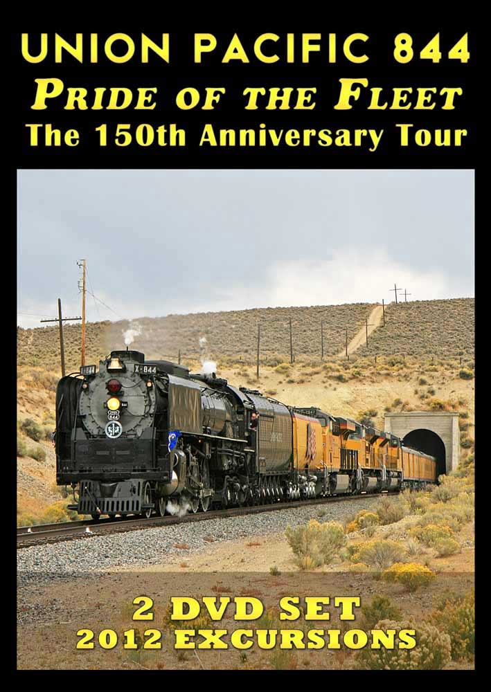 Union Pacific 844 Pride of the Fleet 150th Anniversary Tour 2 Disc DVD Steam Video Productions SVP844PDVD