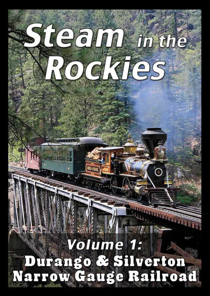 Steam in the Rockies V1 Durango & Silverton DVD Steam Video Productions SVPSRK1DVD