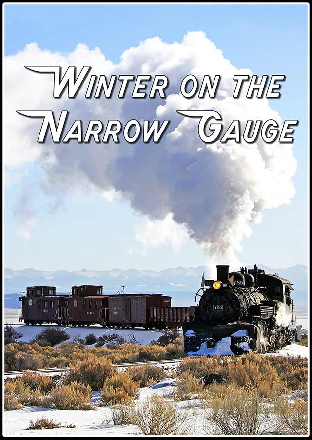 Winter on the Narrow Gauge DVD Steam Video Productions SVPWNGDVD