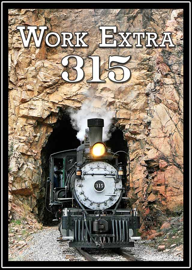 Work Extra 315 DVD Train Video Steam Video Productions SVPWORKDVD