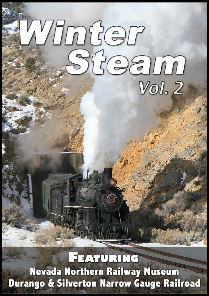Winter Steam Vol 2 - Nevada Northern & Durango & Silverton DVD Train Video Steam Video Productions SVPWSV2DVD