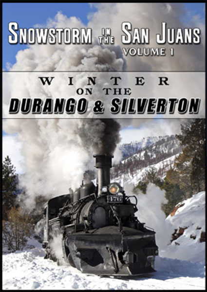 Snowstorm in the San Juans Vol 1 Winter on the Durango & Silverton 2-Disc DVD Steam Video Productions SVPSSJ1D