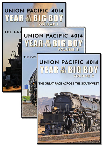 Union Pacific 4014 Year of the Big Boy 3 DVD Collection Vols 1-3 Steam Video Productions SVP4014SETD