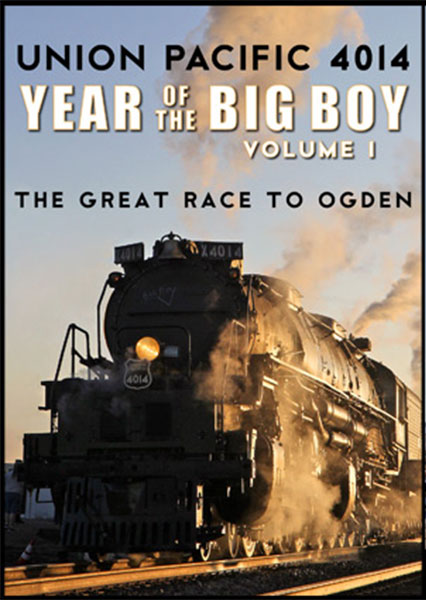 Union Pacific 4014 Year of the Big Boy Vol 1 Great Race to Ogden DVD Steam Video Productions SVP40141D