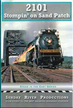 2101 Stompin on Sand Patch DVD Train Video Sunday River Productions DVD-2101
