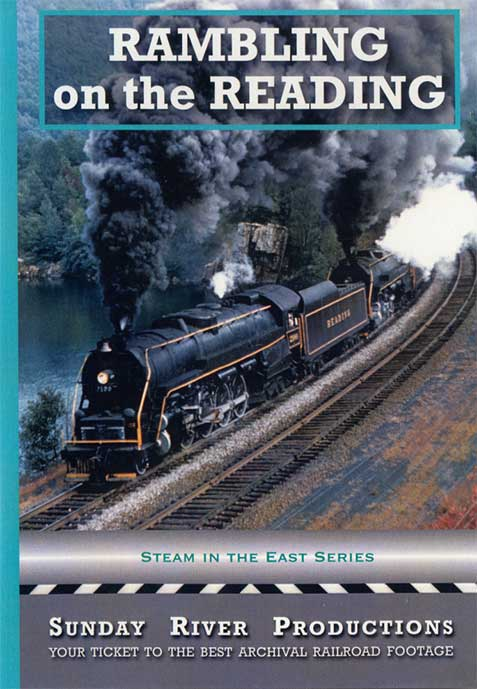 Rambling on the Reading DVD Train Video Sunday River Productions DVD-2124